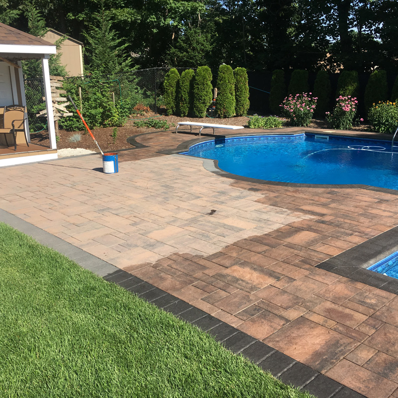 sealing pavers